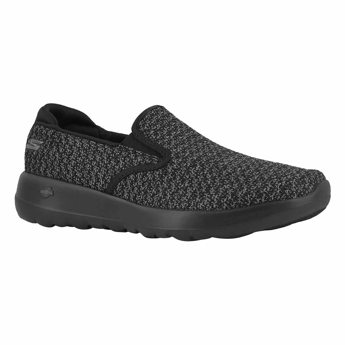 Lds GOwalk Joy Seek blk/gry slip on shoe