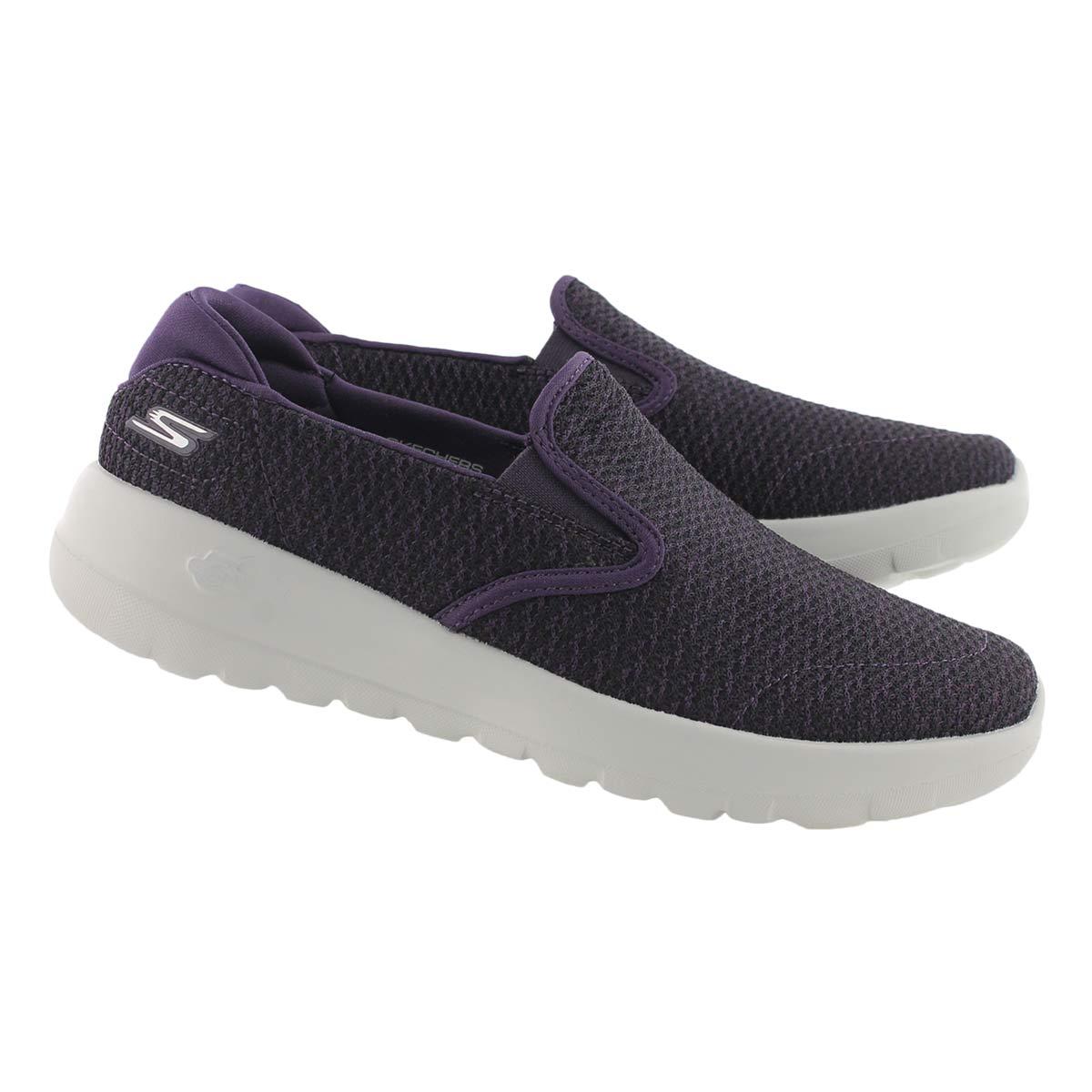 Lds GOwalk Joy Seek purple slip on shoe