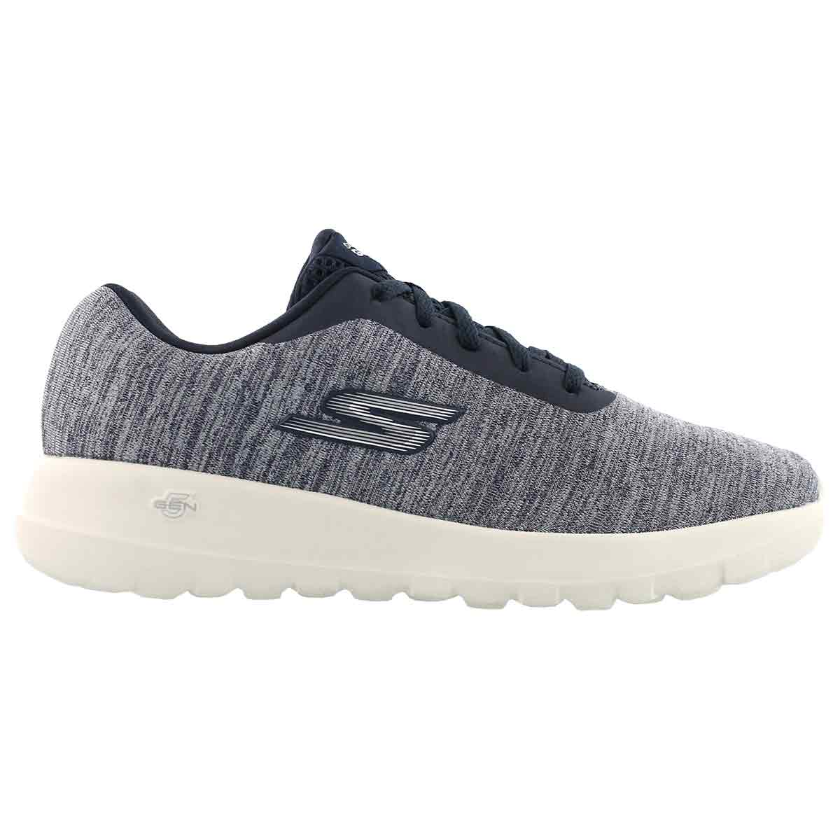 Lds GOwalk Joy Hero navy lace up shoe