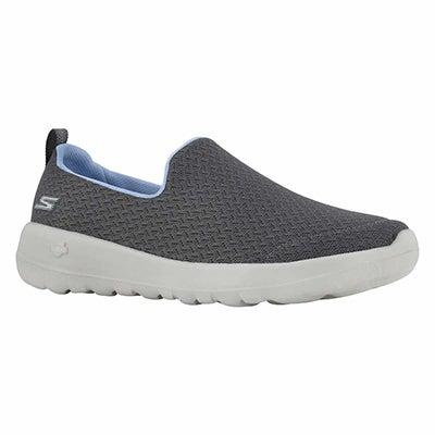 Lds GOwalk Joy Rejoice char slip on shoe