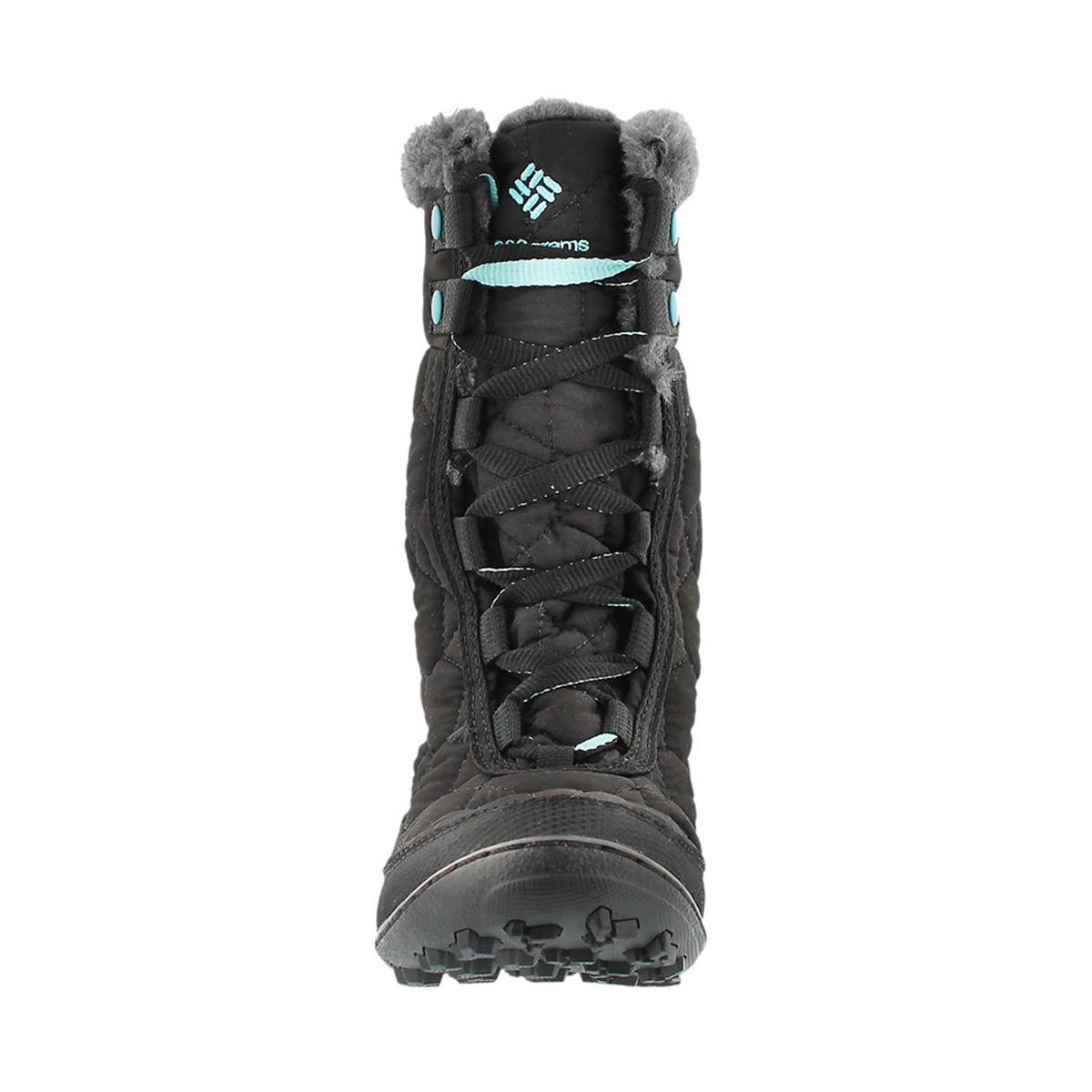 Grls Minx Mid II black winter boot