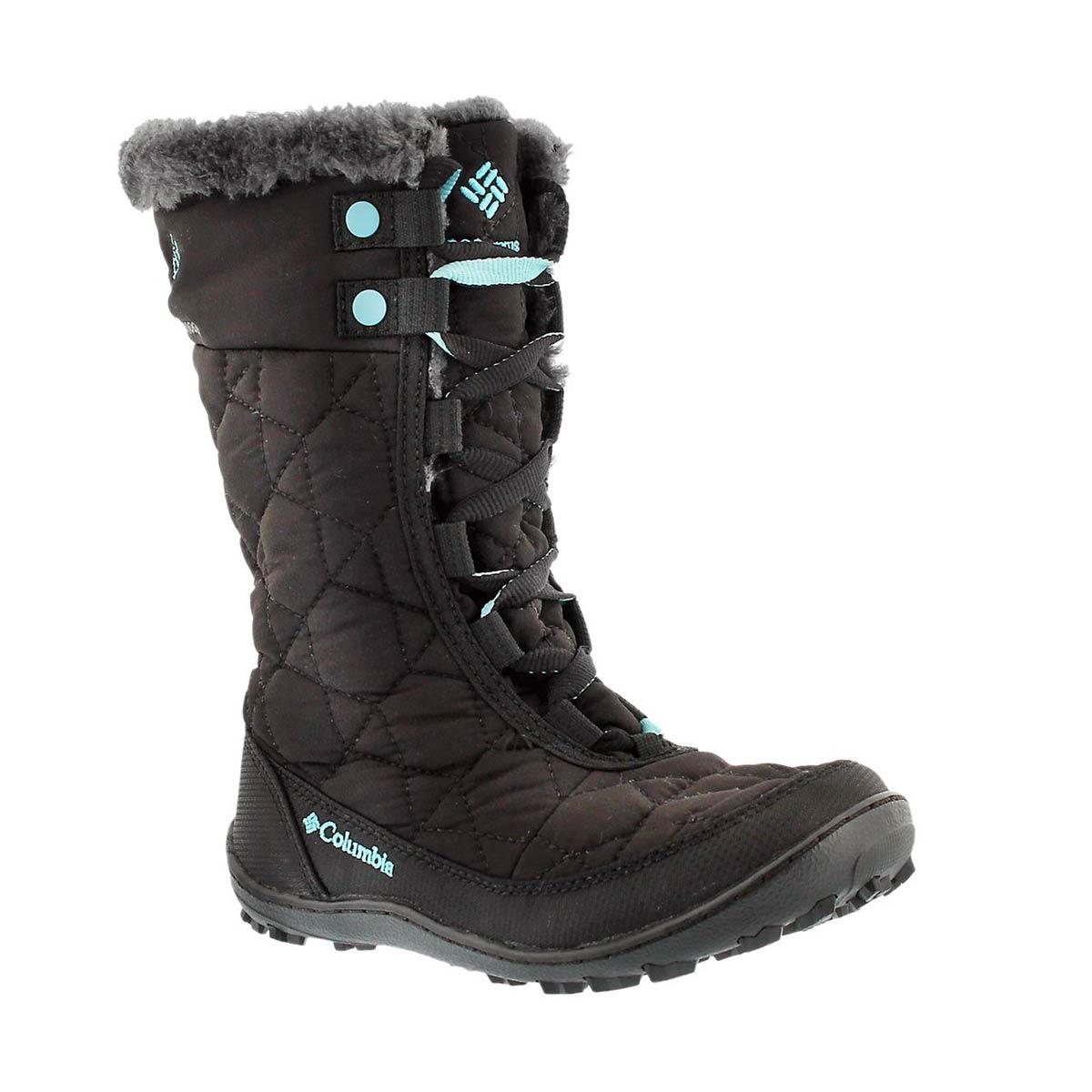 Girls' MINX MID II black winter boots