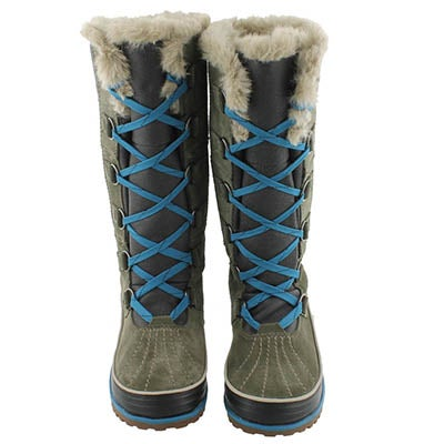 Sorel Women's TIVOLI HIGH II peatmoss winter boots