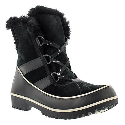 Sorel Women's TIVOLI II black mid shaft winter boots