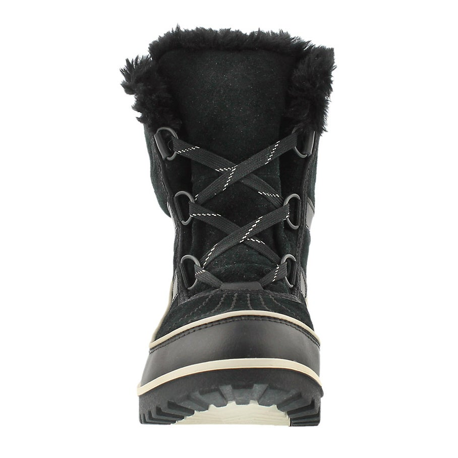 Lds Tivoli II blk mid shaft wnter boot