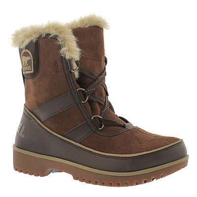 Sorel Women's TIVOLI II tobac mid shaft winter boots