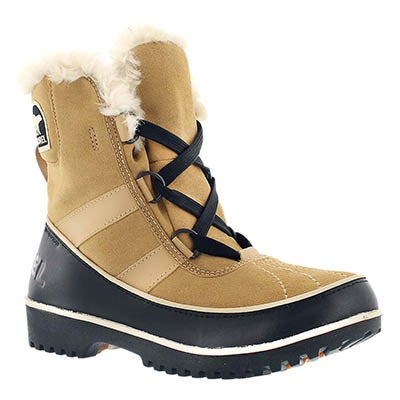 Sorel Women's TIVOLI II curry mid shaft winter boots