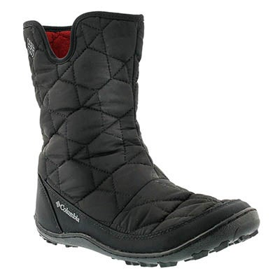 Columbia Women's MINX SLIP II black pull on winter boots