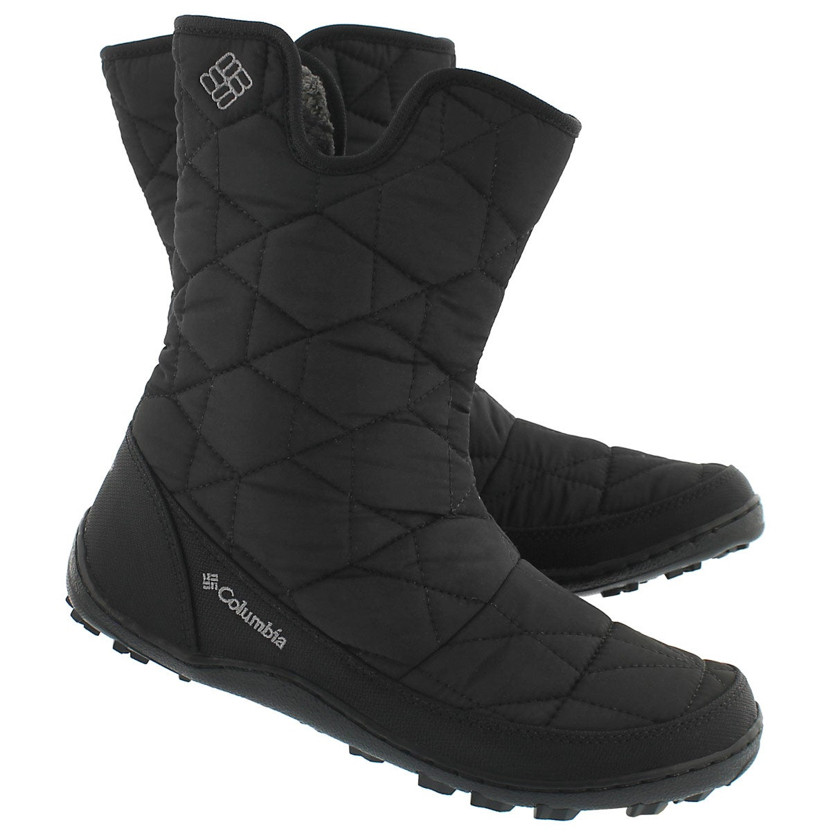 Lds Minx Slip II blk pull on winter boot