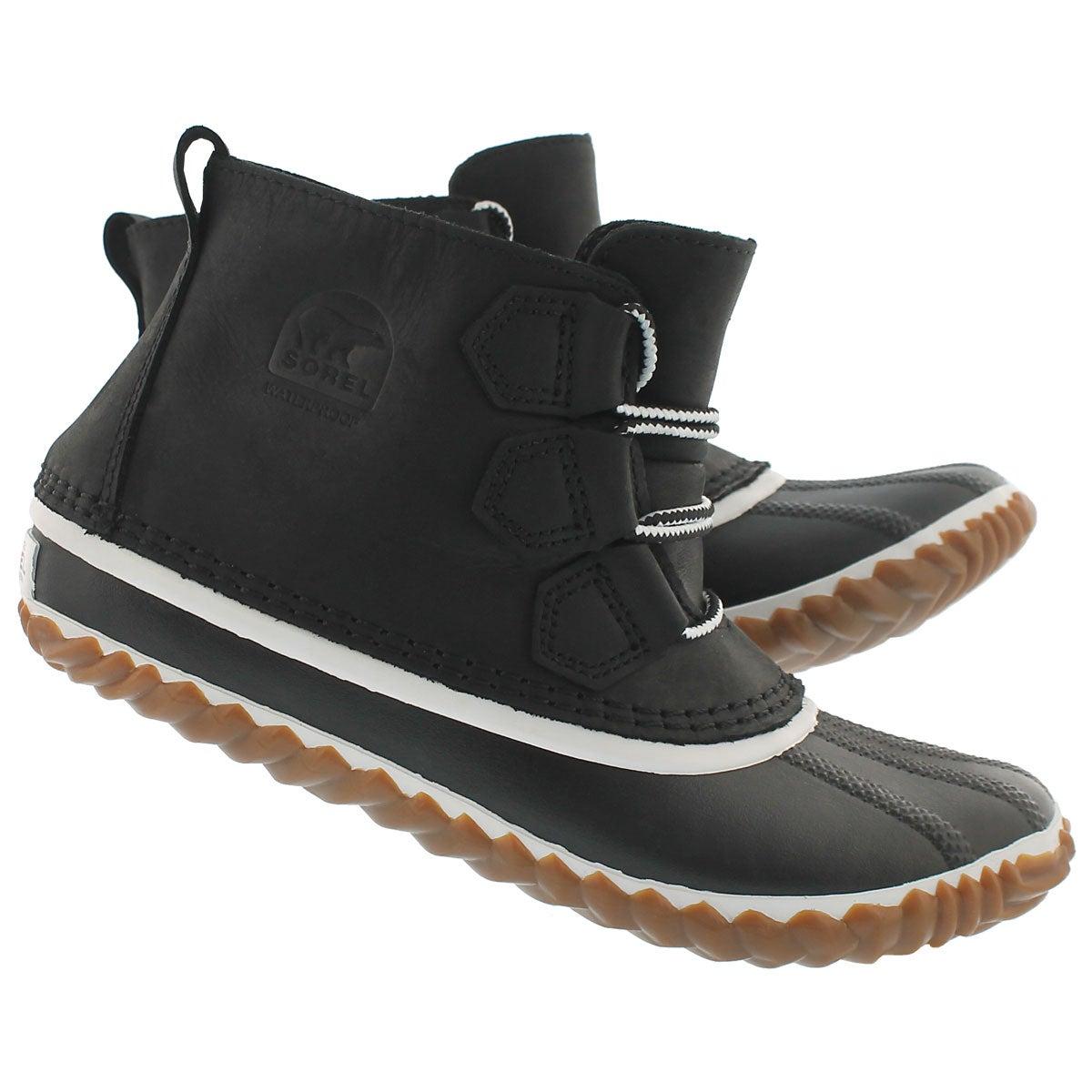 Botte déc Out'N About Leather, noir, fem