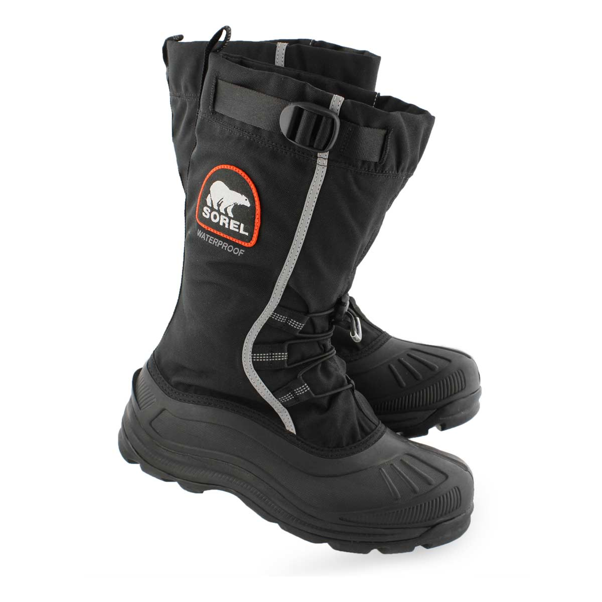 Mns Alpha PAC blk/red wtpf winter boot