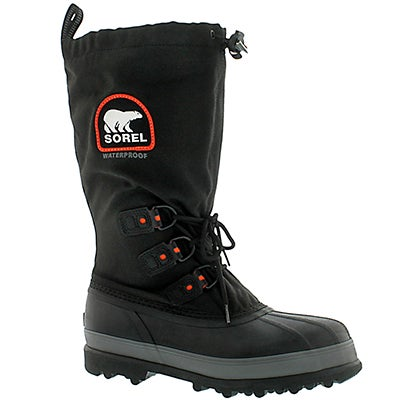 Sorel Men's BEAR XT black waterproof winter boots