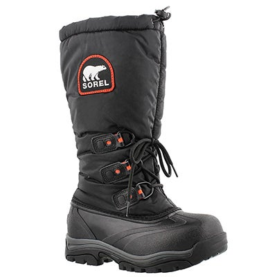 Sorel Women's SNOWLION XT black winter boots
