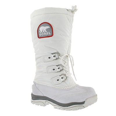 Sorel Women's SNOWLION XT white winter boots