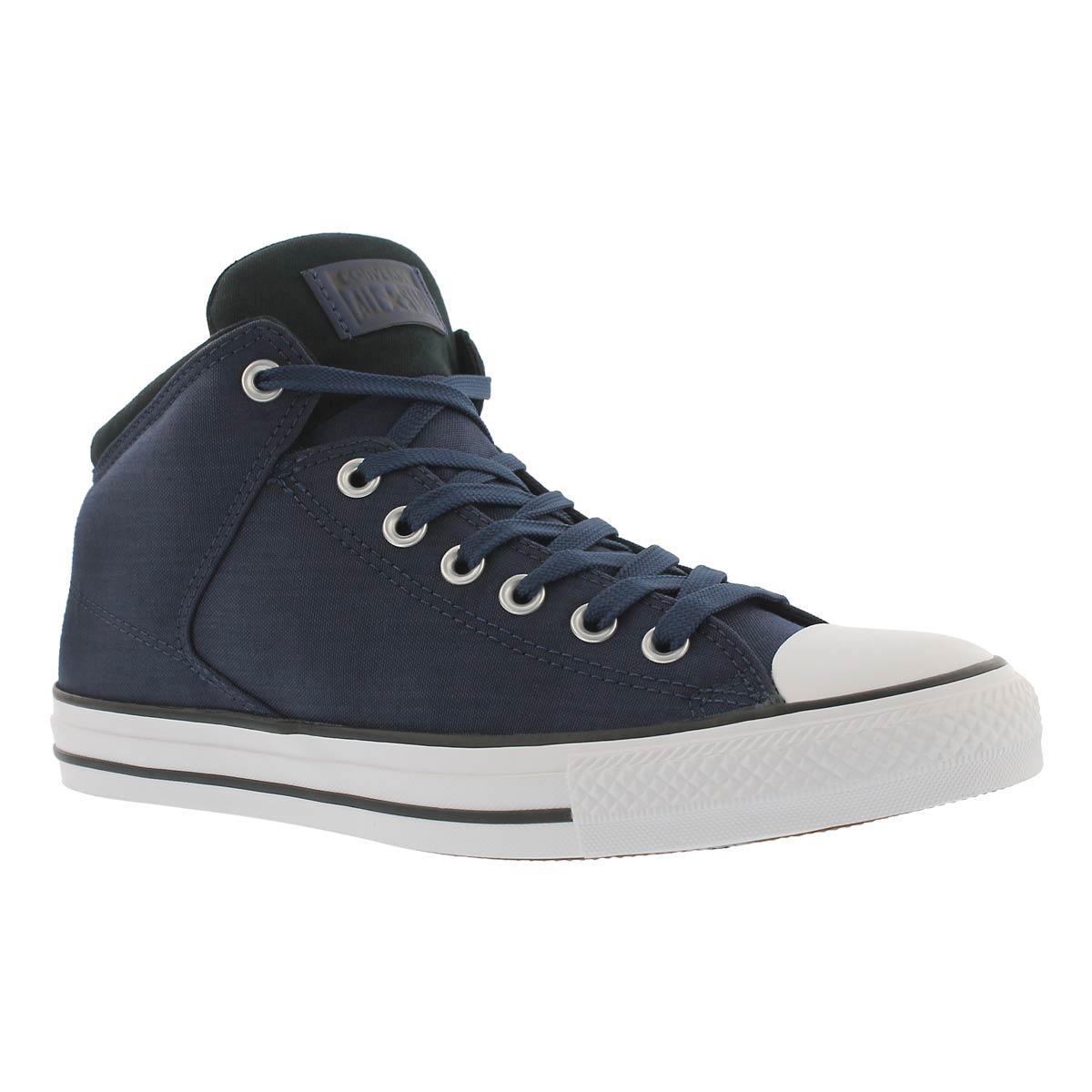 Men's CT ALL STAR HIGH STREET HI CORD nvy sneakers