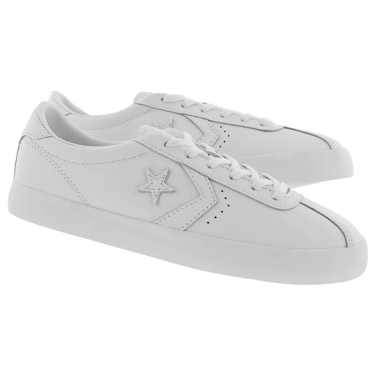 Lds Breakpoint Leather wht fashion snkr