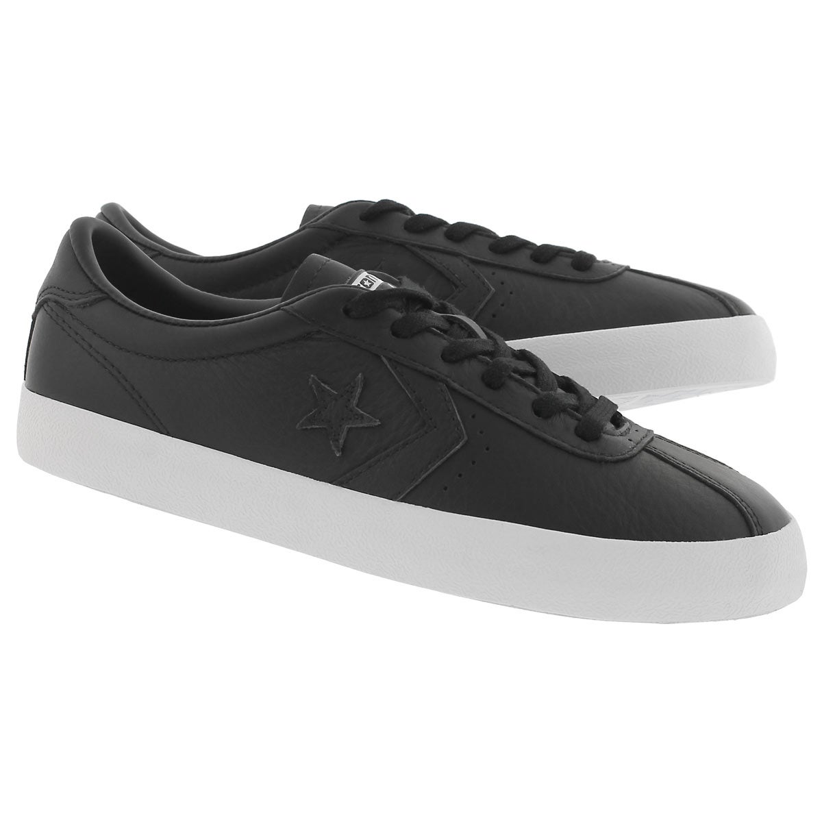 Lds Breakpoint Leather blk fashion snkr