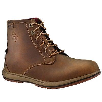 Mns Davenport Six dk ginger casual boot