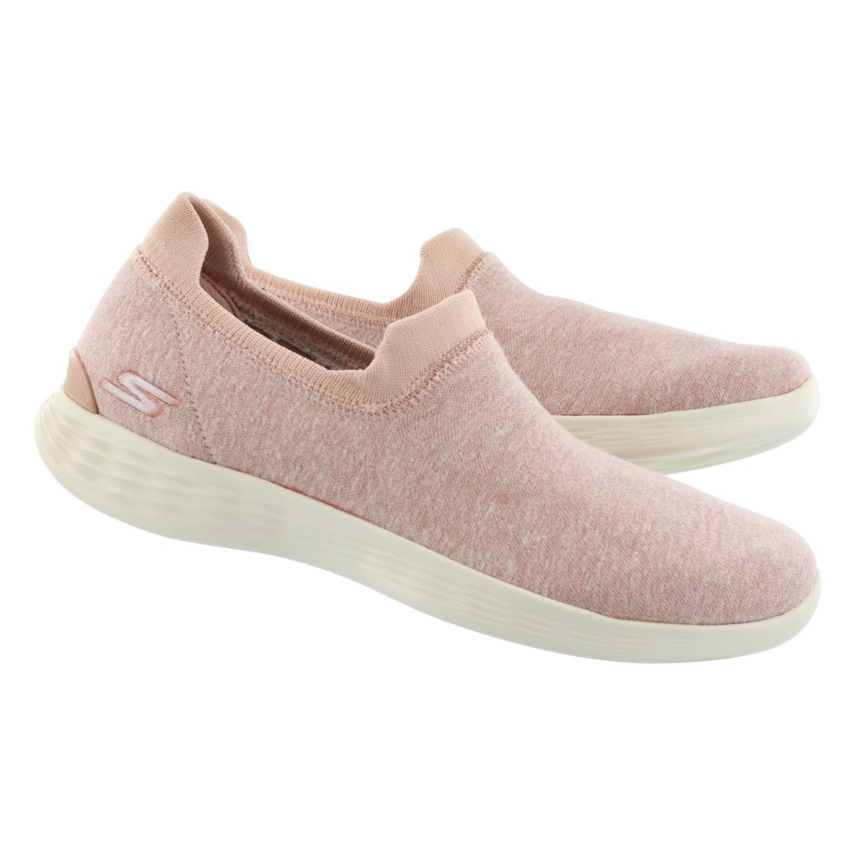 Lds You Define light pnk slip on shoe