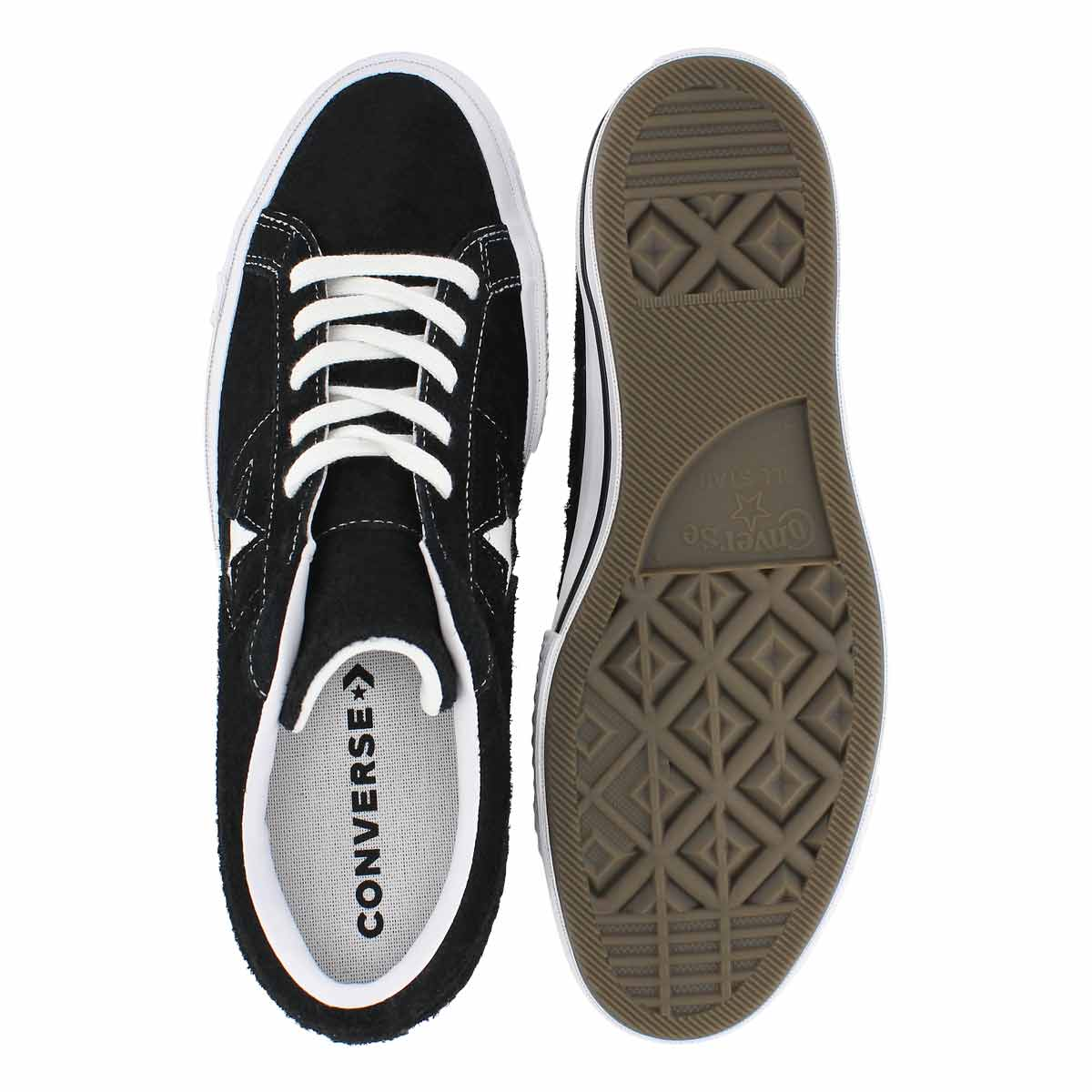 Mns One Star black fashion sneaker