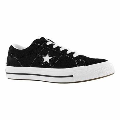 Lds One Star black fashion sneaker