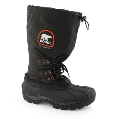 Mns Blizzard XT blk/rd wtpf winter boot