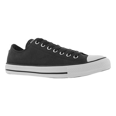 Mns CT All Star Leather Ox black sneaker