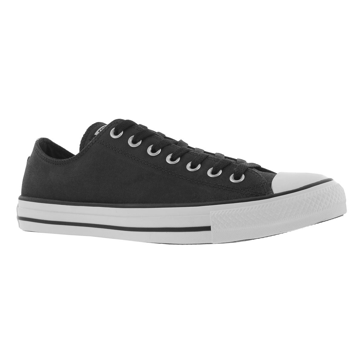 Men's CT ALL STAR LEATHER OX black sneakers
