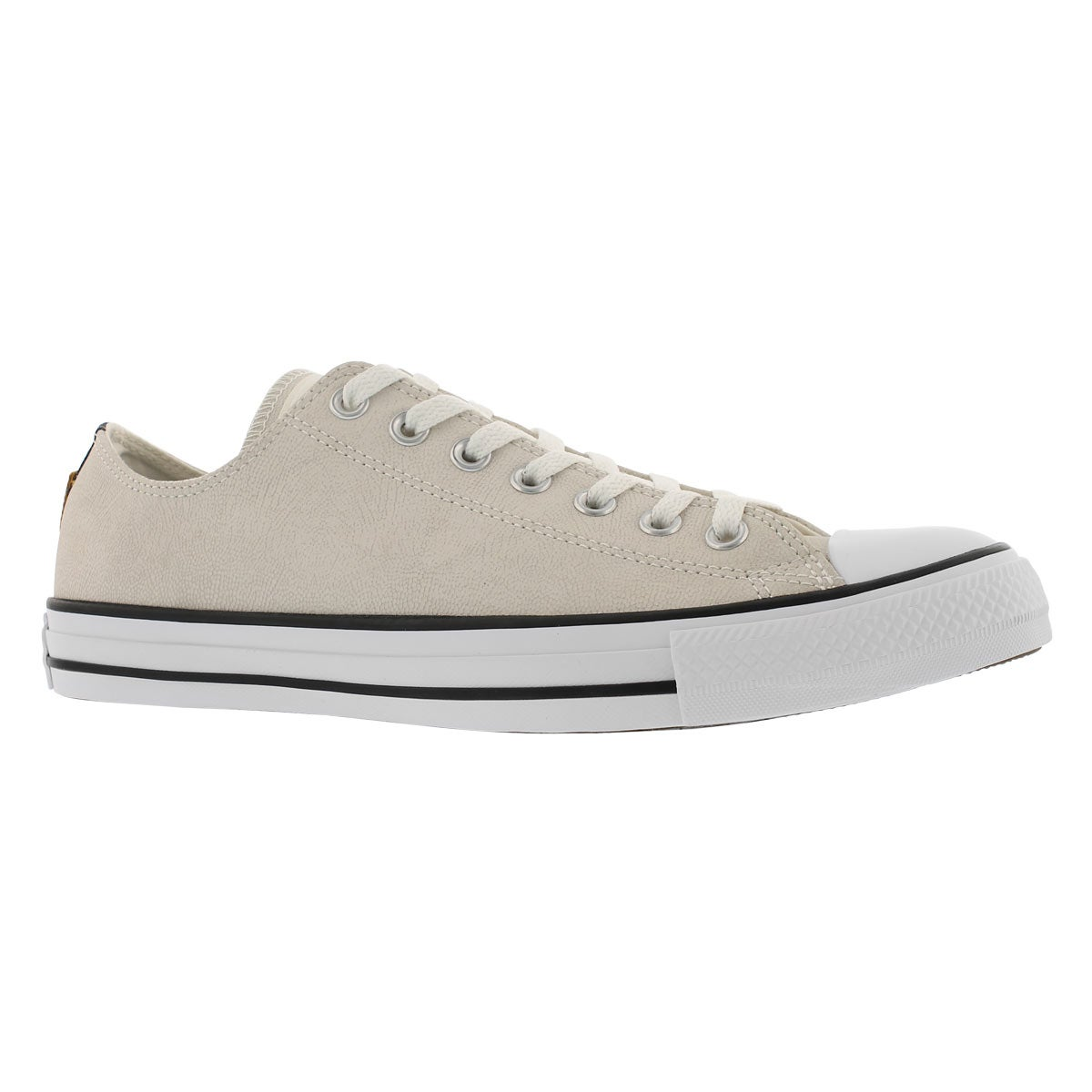 Men's CT ALL STAR LEATHER OX egret sneakers