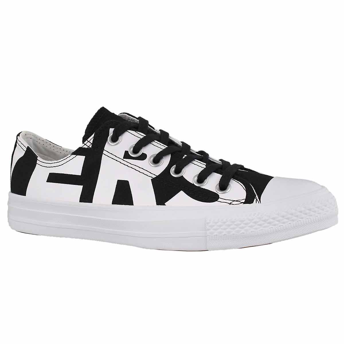 Women's CT ALL STAR WORDMARK blk/wht sneakers