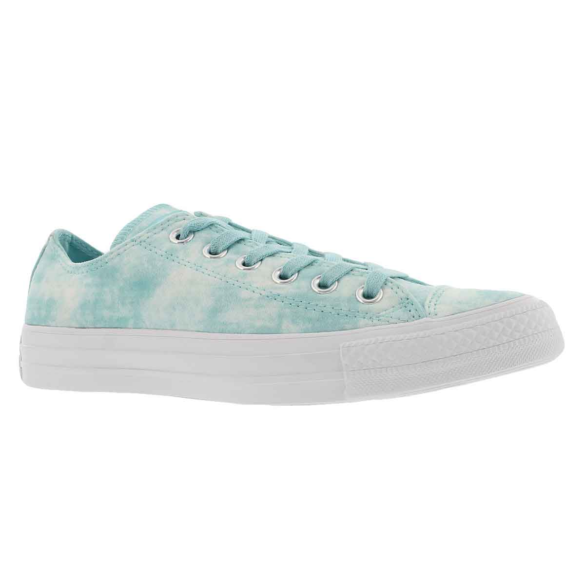 Women's CT ALL STAR PEACHED WASH aqua sneakers