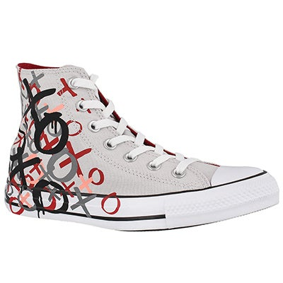 Lds CTAS Bleeding Love mouse/red hi top