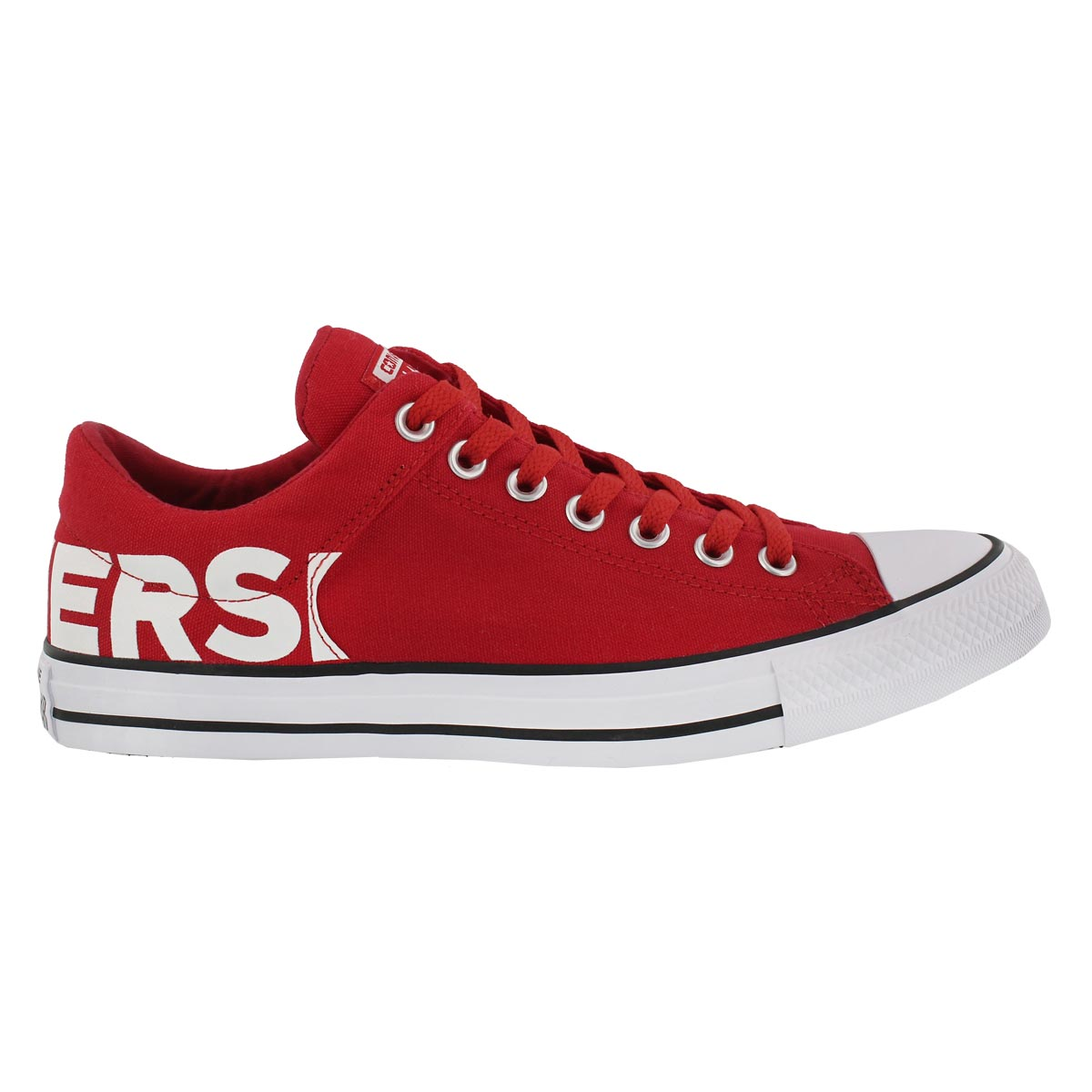 Mns CTAS Wordmark red/white sneaker