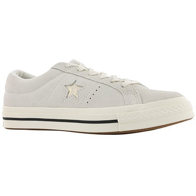 Lds One Star egret/gold snkr