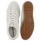 Lds One Star egret/gold sneaker
