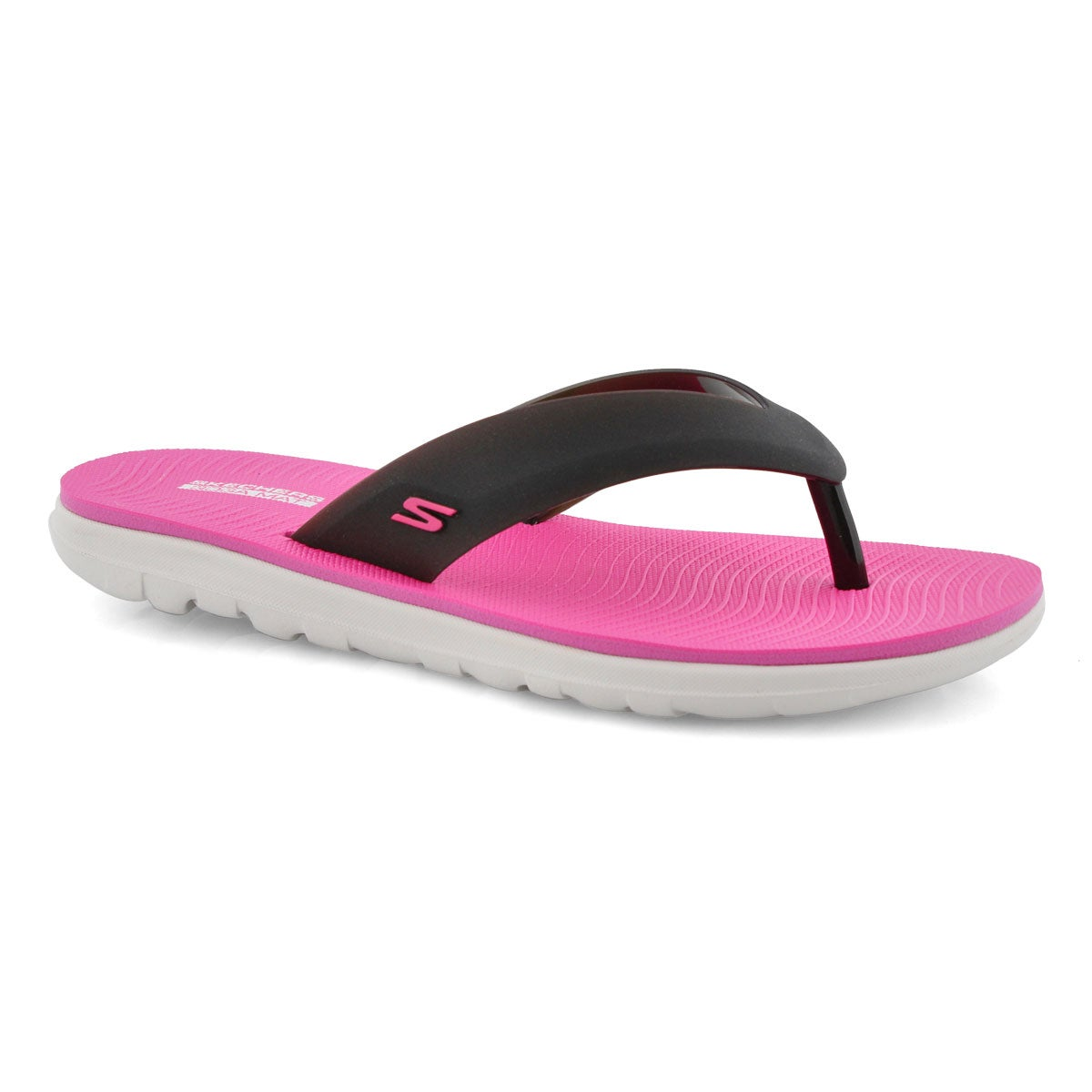 Tongs NEXTWAVE ULTRA TOPICZ noir/rose fluo, femmes