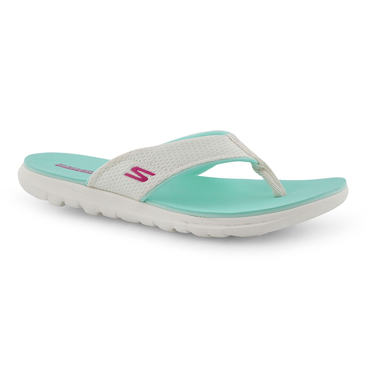 great deals multiple colors good quality Women's NEXT WAVE ULTRA CAPRI white flip flop