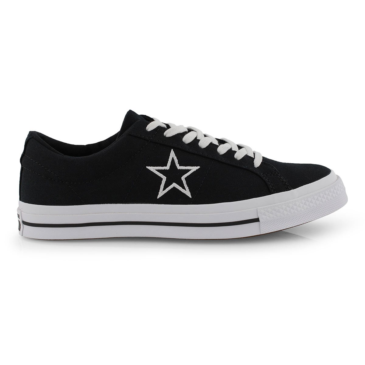 Mns One Star blk/wht fashion snkr