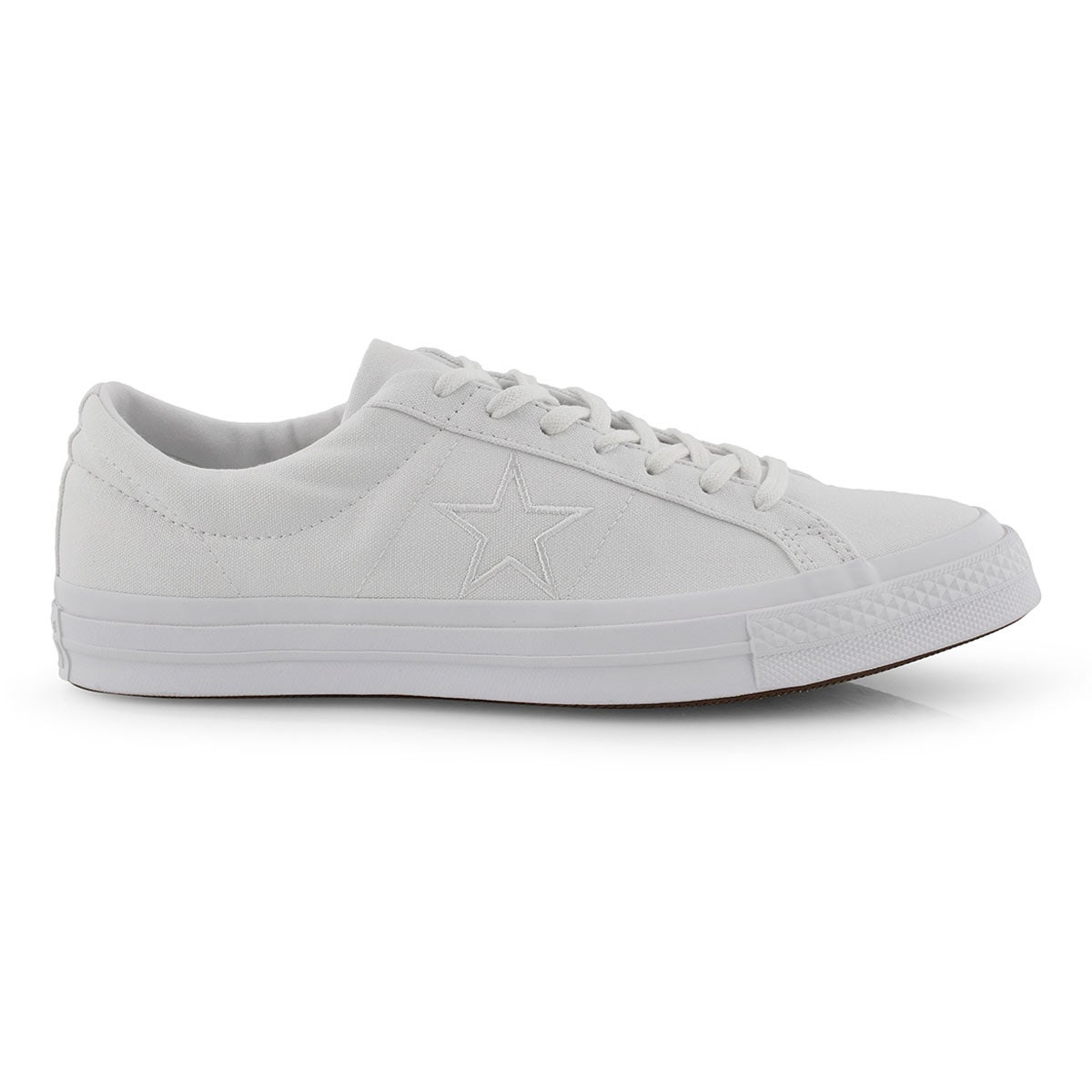 Mns One Star wht/wht fashion snkr