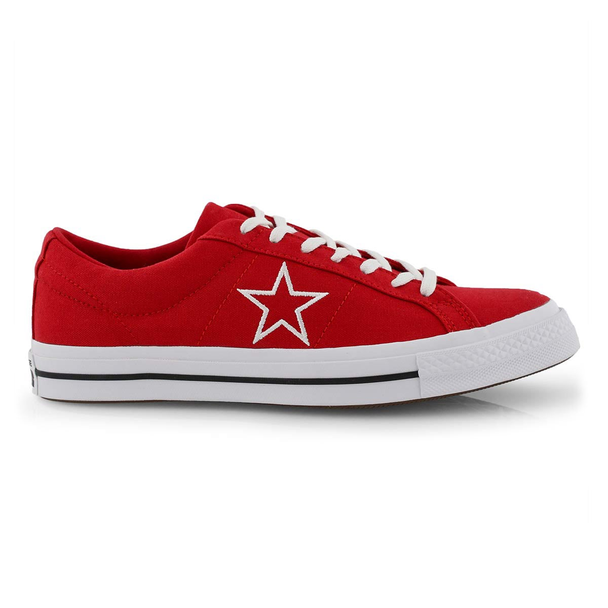 Mns One Star red/wht fashion snkr