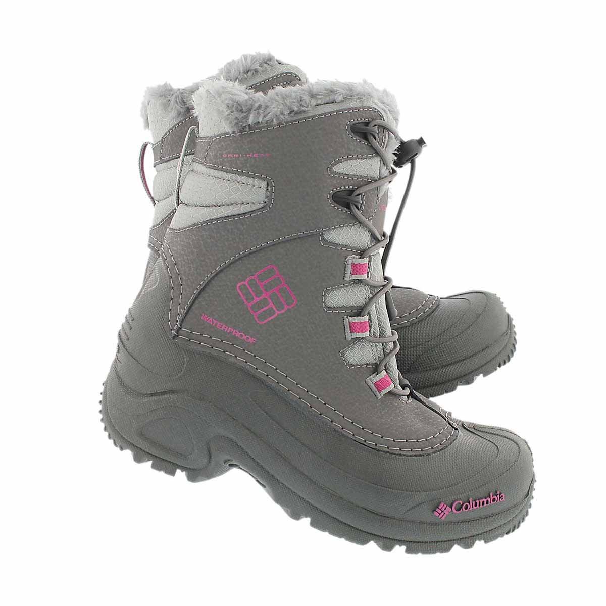 Grls Bugaboot shale winter boot