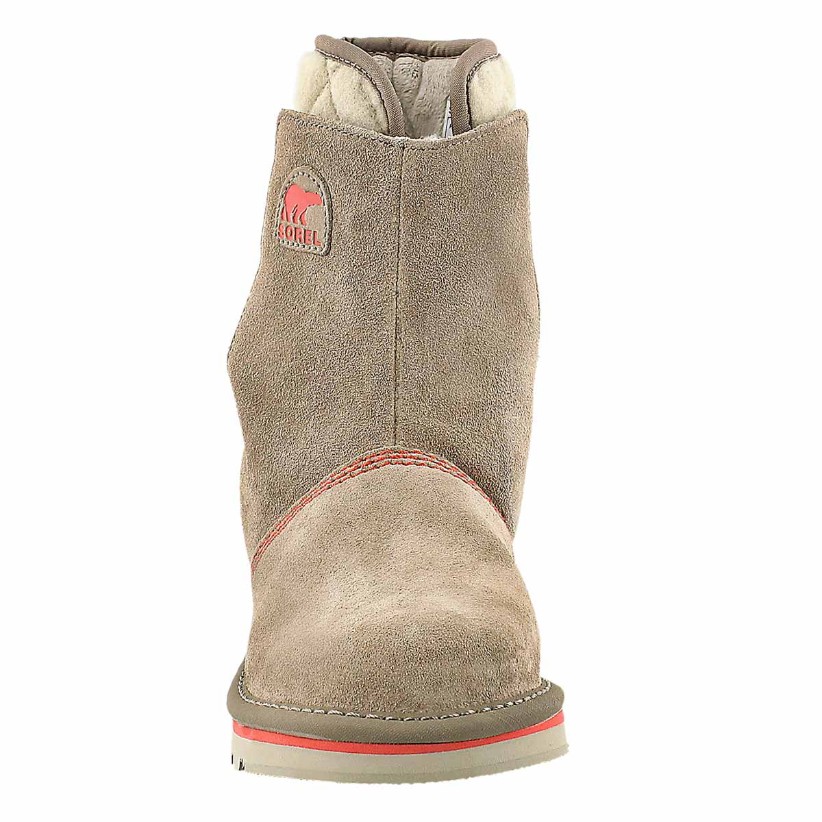 Grls Youth Newbie tan casual boot
