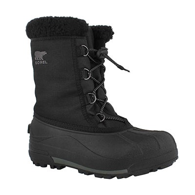 Bys Cumberland blk winter boot