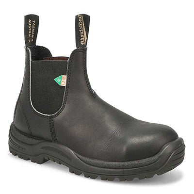 Blundstone Unisex CSA GREENPATCH pull-on boots - UK SIZING