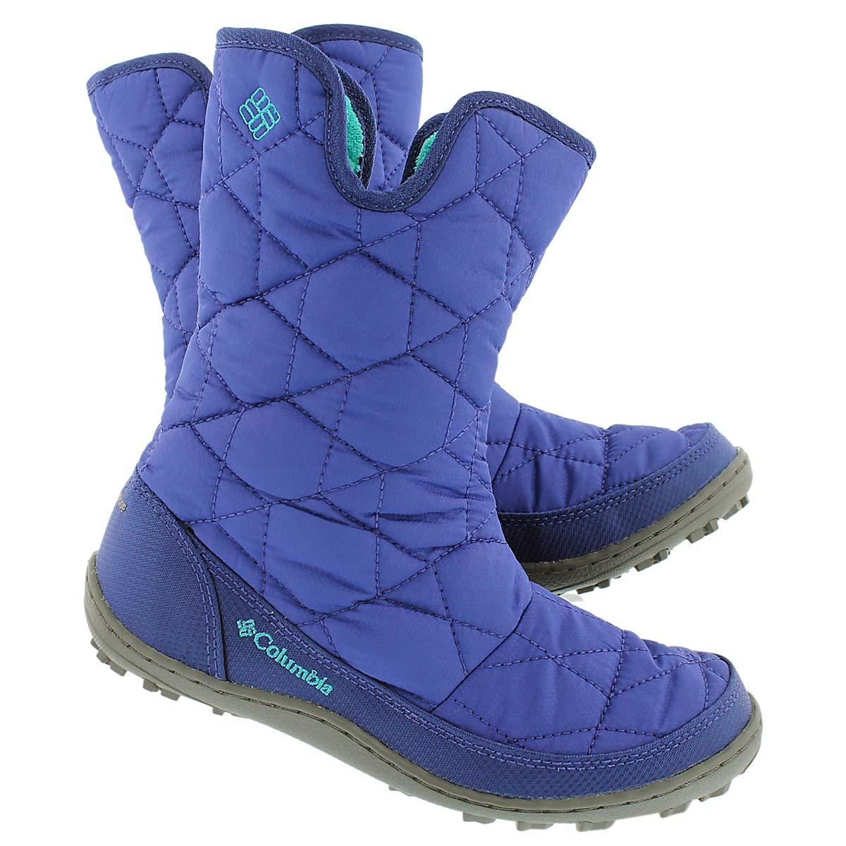 Grls Minx Slip grape winter boot