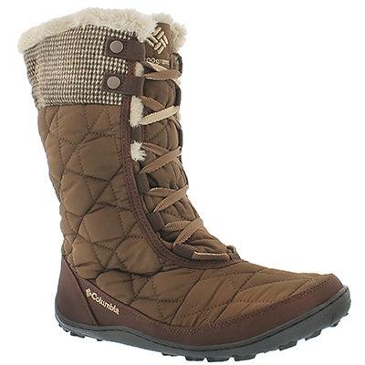Columbia Women's MINX MID II umber winter boots