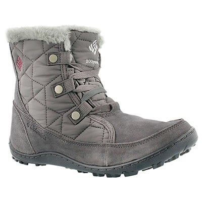 Columbia Women's MINX SHORTY shale short winter boots