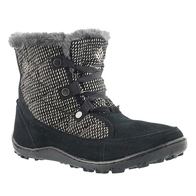 Columbia Women's MINX SHORTY black short winter boots