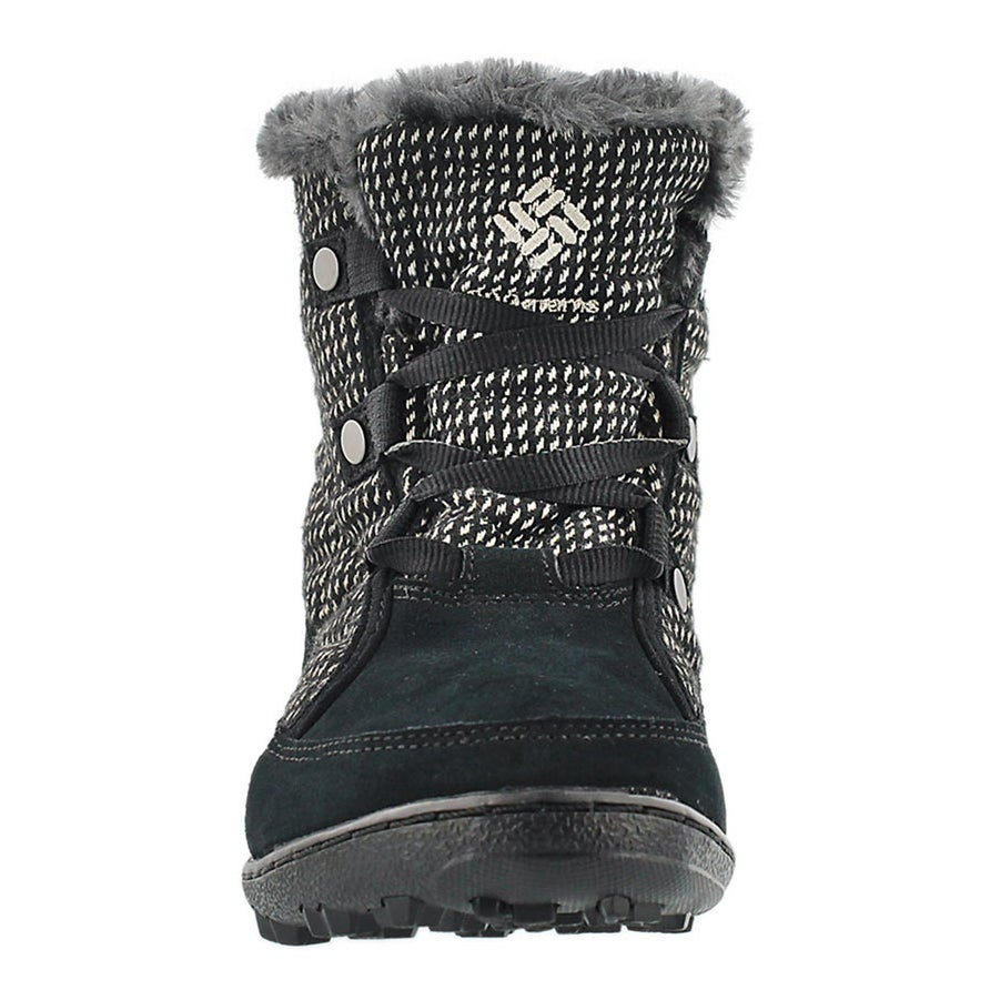 Lds Minx Shorty blk short winter boot