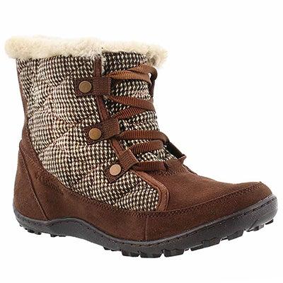 Lds Minx Shorty tobacc short winter boot